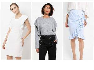 Asia Pacific's Top Three Mass Market Fashion Trends ruffles omnilytics